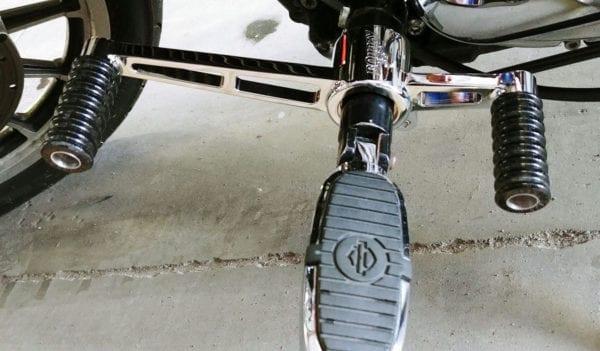 BQ chrome heel toe shift lever