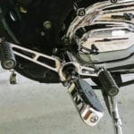Chrome Heel Toe Shift Lever